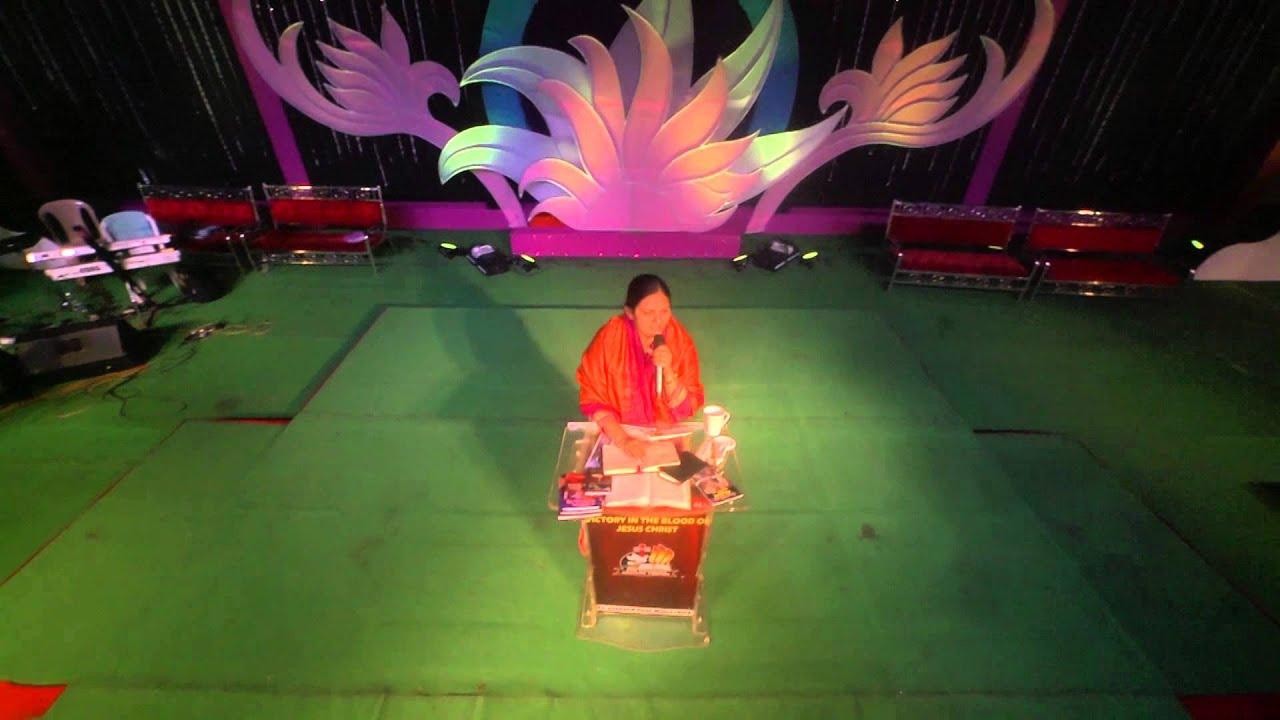 దేవునికి ఇవ్వాల్సిన ఘనత నీవు ఇస్తున్నావా? - message by Sis.Shaila Paul