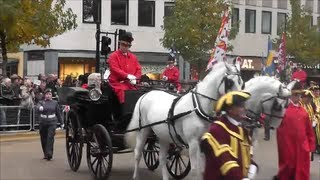 London Lord Mayor Show 2012 Beautiful Horses and Bands