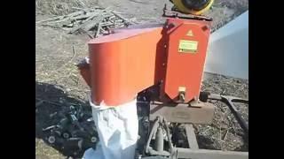Измельчитель веток АМ-120 БД