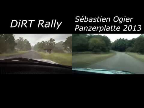 DiRT Rally VS Real Life | Panzerplatte