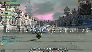 [Dragon Nest SEA] Rune Dragon Nest Guide