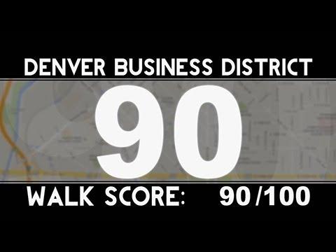 City Walk: Walk Score: Denver