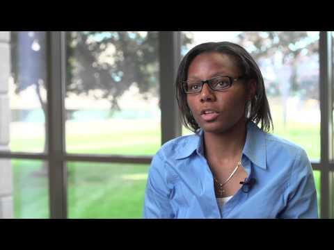 MITRE Intern Tamara Sobers Applies Classroom Knowledge in the Real World