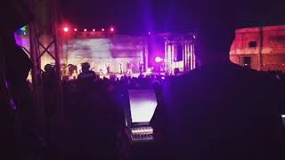 Joshua Gray Mixing Live outside Durban Christian Centre