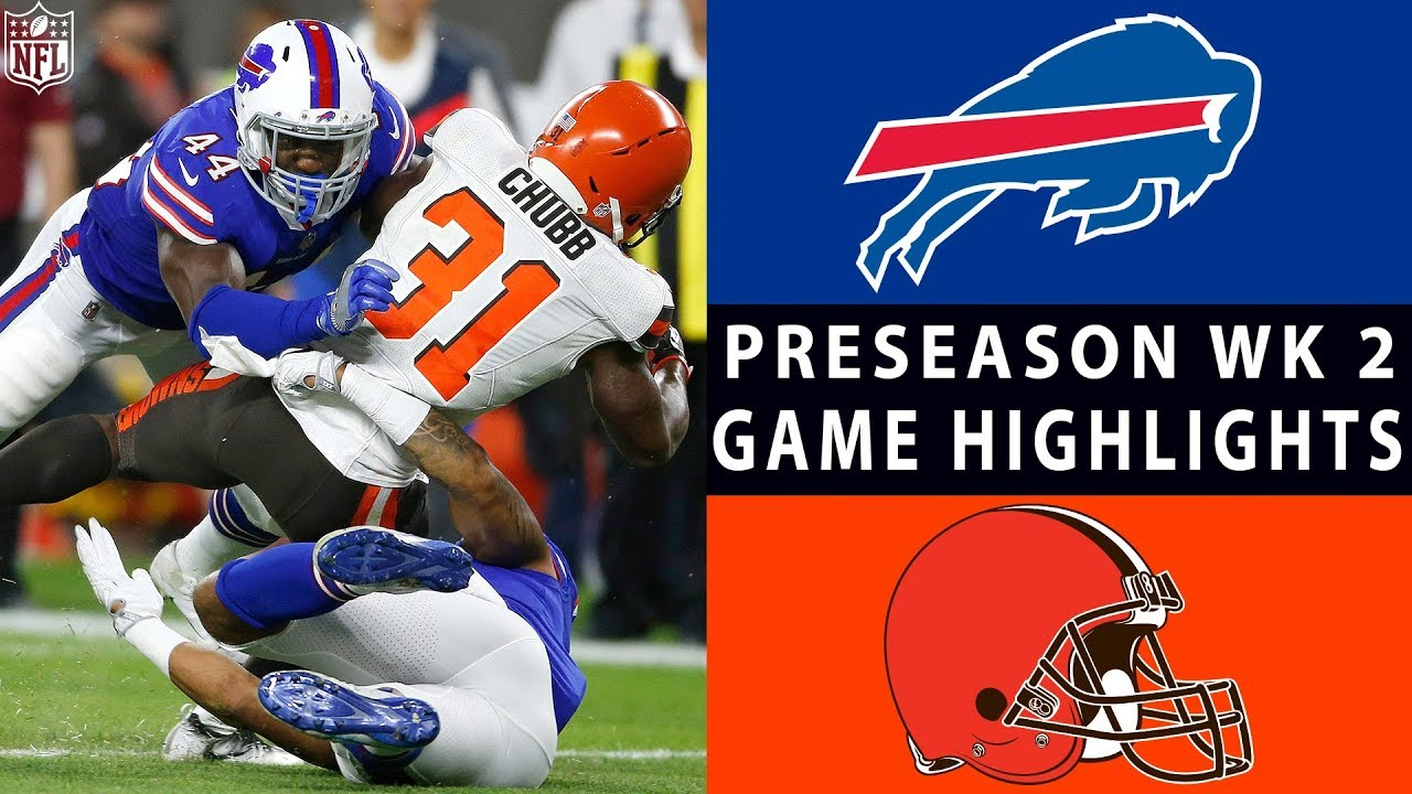 Bills vs. Browns Highlights | NFL 2018 Preseason Week 2