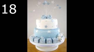 CAKES FOR BABY SHOWER BOY