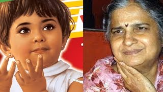 Who is the girl on Parle G Biscuit Pack ?