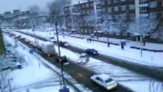 Londyn 2009 - 2 Luty Śnieg/London 2009 - 2nd February Heavy Snow