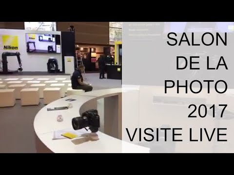 Salon de la Photo de Paris : visite Live de l'édition 2017