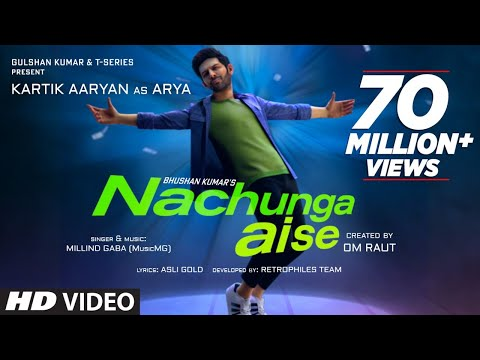 Nachunga Aise Song: Millind Gaba Feat. Kartik Aaryan | Music MG | Asli Gold | Om Raut, Bhushan Kumar