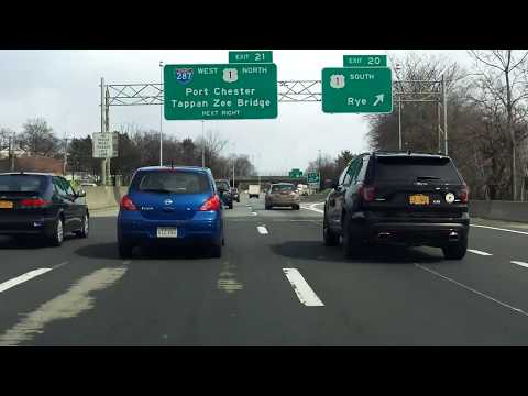 Westchester County, NY Expressway Tour north/westbound