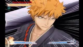WII Bleach Shattered Blade Gameplay HD