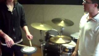 MR Drum Lesson at The Drum School 2.mp4