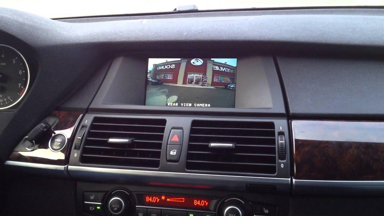 Aftermarket Backup Camera >> 2013 BMW X5 Custom installed a Back Up Camera - YouTube