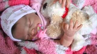 Reborn Baby Doll, Daisy from the Serah Sculpt by Adrie Stoete,