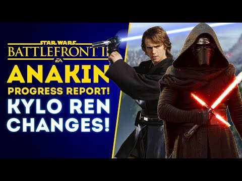 Anakin Skywalker Progress Report & Kylo Ren Changes! - Star Wars Battlefront 2 thumbnail