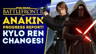 Anakin Skywalker Progress Report & Kylo Ren Changes! - Star Wars Battlefront 2