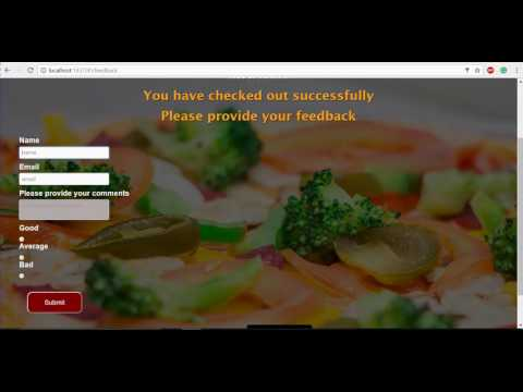 Online Restaurant Website (Project)