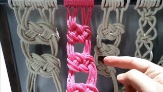 Вязание Макраме подхват// Своими руками macrame// Мастер класс   handicrafts//