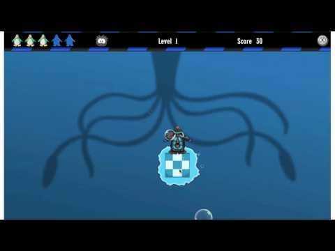 Club Penguin Puffle Rescue Game Level 1 Black Walk Thru Cheats by Mimo777