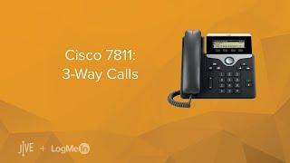 Cisco 7811: 3-Way Calls