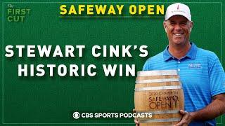 Stewart cink wins safeway open, scottie scheffler's shocking wd from u.s. open