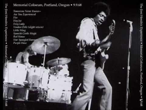 Jimi Hendrix Experience -  Portland, 9 September 1968