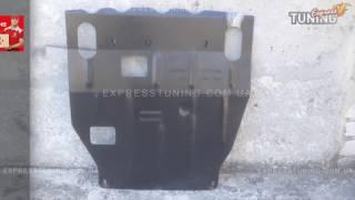 Защита двигателя Митсубиси Лансер 10 под бампер. Защита картера Mitsubishi Lancer X. Tuning. Тюнинг.