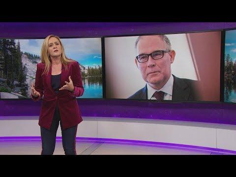 Scott Pruitt vs. The World | October 25, 2017 Act 2 | Full Frontal on TBS