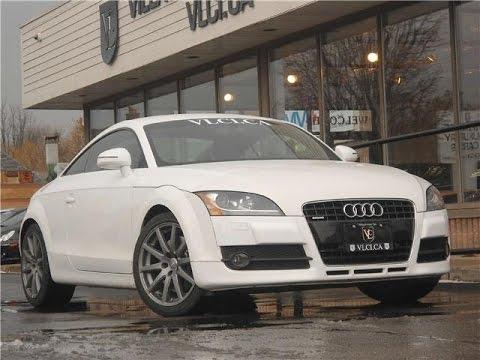 2008 Audi TT 32 Quattro in review  Village Luxury Cars Toronto