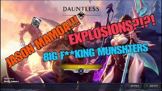 Jason Mamoa In Dauntless?!? (Dauntless funny moments & Gameplay)