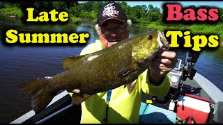 Late Summer Smallmouth
