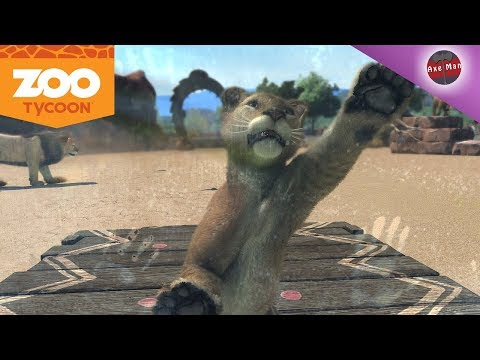 ADORABLE BABY LIONS ! CHIMPANZEE FAMILY  | ZOO TYCOON | PC GAMEPLAY EP 3