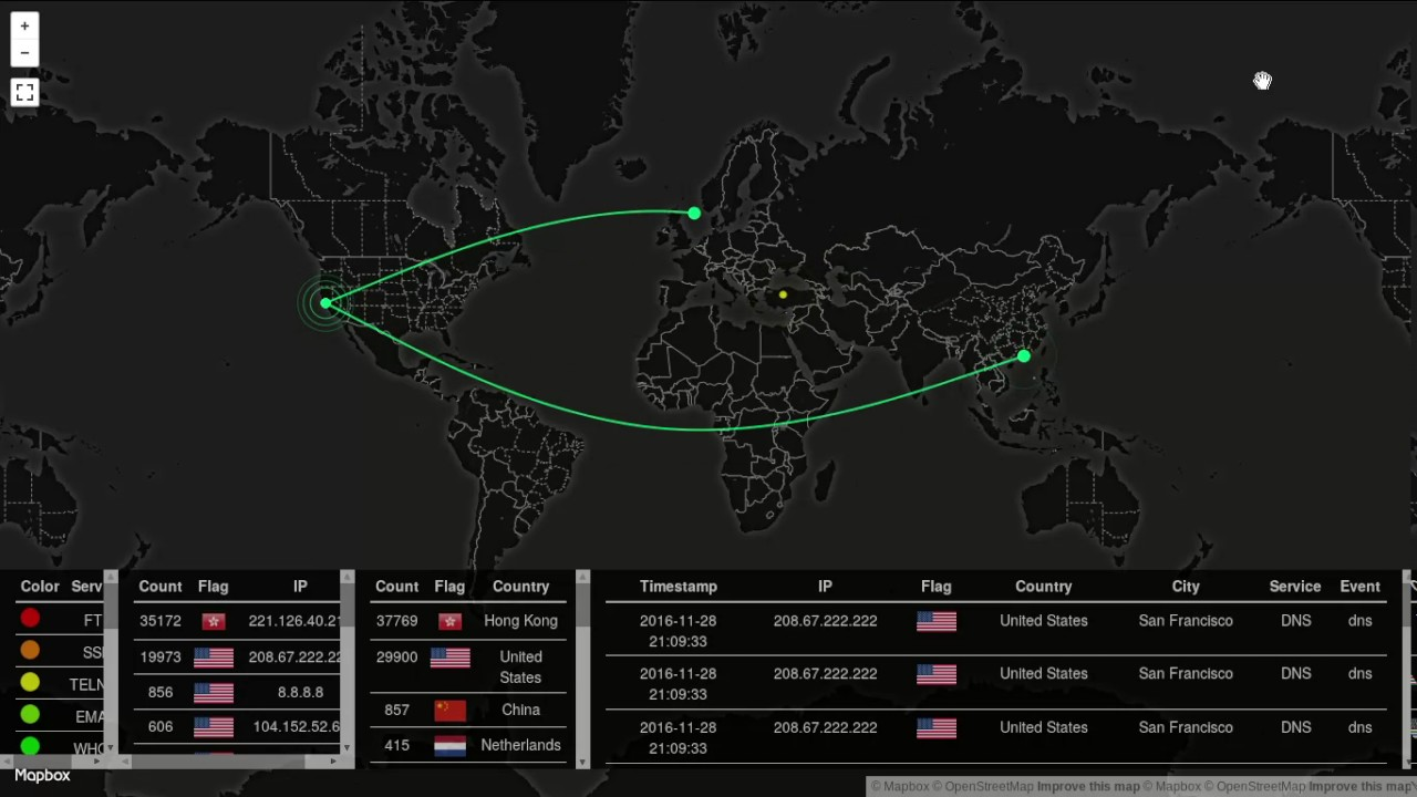 Samiux's Blog: HOWTO : Traffic and Attack Map for Suricata