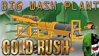 Gold Rush the Game: BIG WASH PLANT ASSEMBLY! HUGE LOAN!  #6