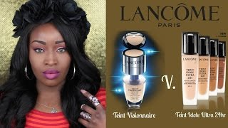 Review |  Lancome | Teint Idole V. Teint Visionnaire | Demo