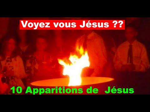 /10 APPARITIONS DE JESUS ... LES 10 MEILLEURES APPARITIONS (MANIFESTATIONS) DE JESUS