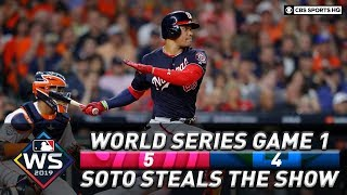 Game 1 goes to the Washington Nationals as Juan Soto shines | World Series 2019 | CBS Sports HQ