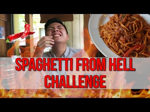 TRYING THE SPICIEST SPAGHETTI IN SINGAPORE | TSL Vlogs