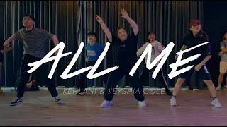 ALL ME @Kehlani @keyshiacole BY #PKTOUCHDOWN