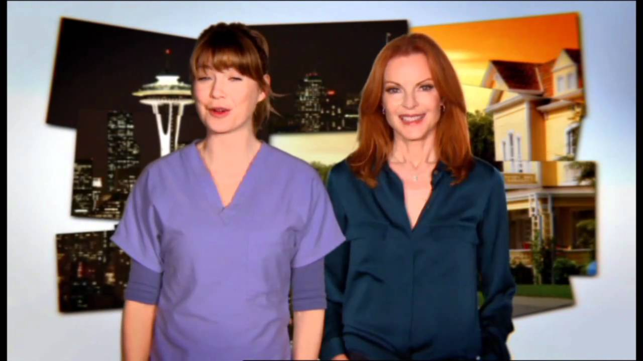 Grey\'s Anatomy and Desperate Housewives come together promo - One ...