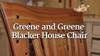 215 - Greene & Greene Blacker House Chair