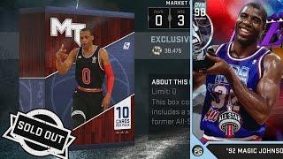 NBA 2K16 PS4 My Team - All-Star MVP Box Black Market!