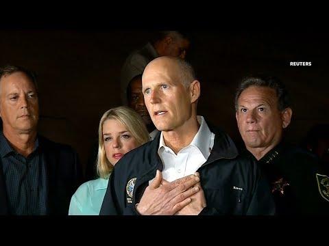Florida governor calls school shooting 'pure evil'