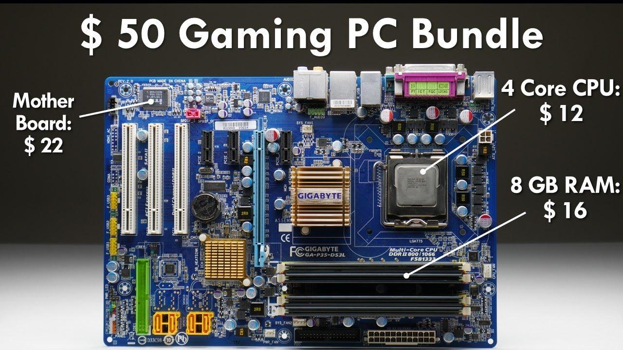 $50 Motherboard CPU RAM Bundle - YouTube