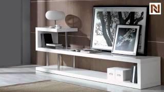 Modern White Lacquer Tv Stand Vgguwin5