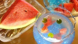 Watermelon Goldfish Jelly スイカの金魚鉢ゼリー thumbnail
