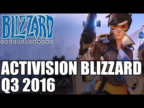 Activision Blizzard Q3 2016 | Biggest Online Community Thanks to WoW & Overwatch