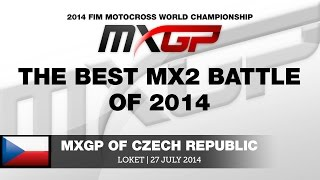 MXGP of the Czech Republic 2014 -The best MX2 battle of 2014 - Motocross