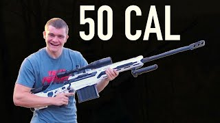 MY 50 CALIBER SNIPER RIFLE!